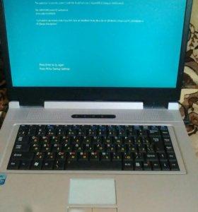 Ноутбук RoverBook Partner W500