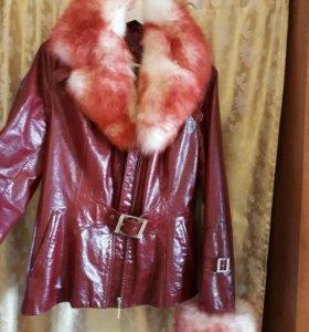 Продаю новую кожанную куртку