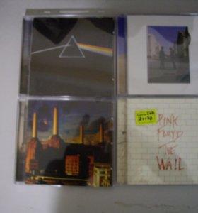 Коллекция Pink Floyd на CD