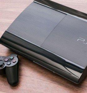 PlayStation 3 SS(Super Slim)(500 Gb,GTA 5)