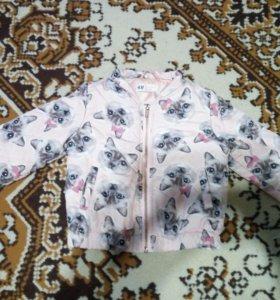 курточка для девочки Н&М
