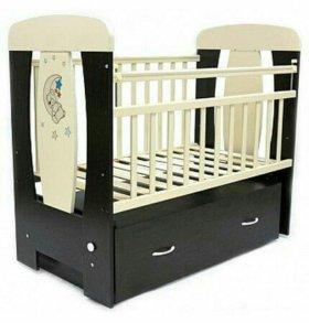 Детская кровать- маятник