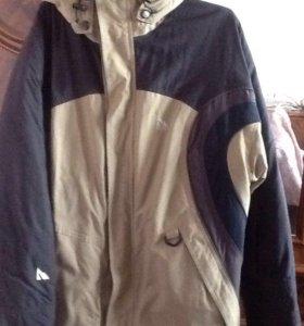 Куртка- пуховик горнолыжная мужская