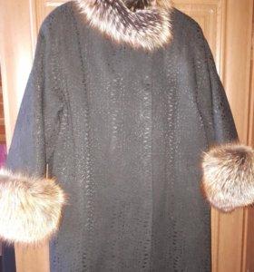 """Зимнее пальто """"Снежное танго"""""""