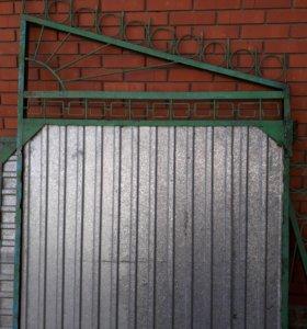Ворота б.у.