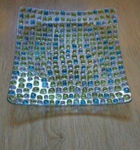 Тарелка мозаика