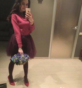 T-skirt платье юбка