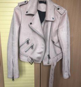 Новая куртка косуха Zara