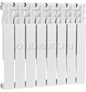Радиатор биметаллический Konner, 8 секций, 500/80
