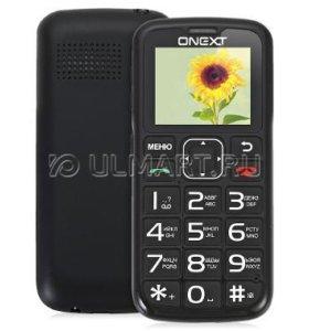 Мобильный телефон ONEXT Care-Phone 5 Black, черный