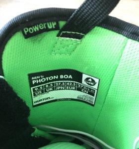 Новые сноуборд ботинки burton photon