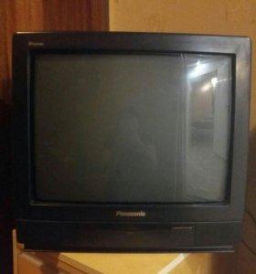 Телевизор Panasonic+домашняя антенна+пульт