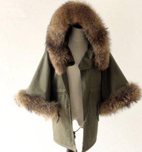 Пальто мех