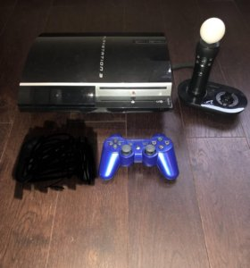 PlayStation 3 + PlayStation move + геймпад