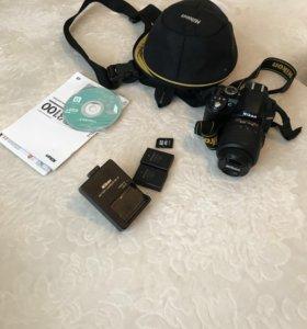 Зеркальный фотоаппарат Nikon D 3100