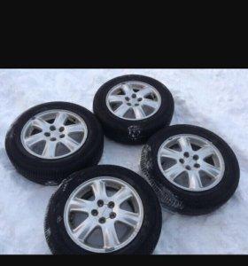 Литые диски для Subaru без резины