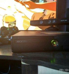 XBOX 360 + KINECT + 2 Гейпада