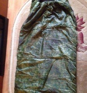 Спальный мешок СП 3 ХХL камуфляж НОВЫЙ до -3