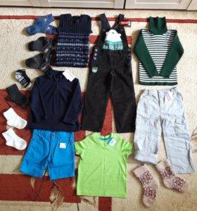 Новая одежда на мальчика р.98