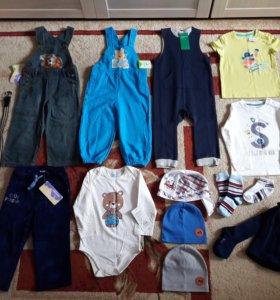 Одежда на мальчика р.92 новая