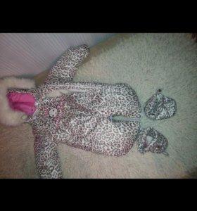 Детский зимний комбенезон трансформер