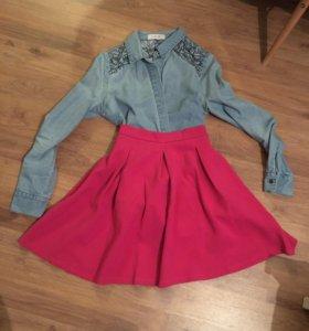 Новая юбка lost ink