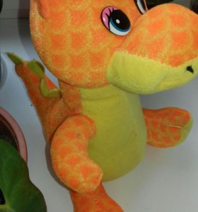 Мягкая игрушка-дракон