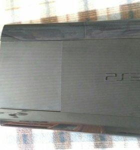 PS3 Super Slim + 3 диска + 7 цифровых