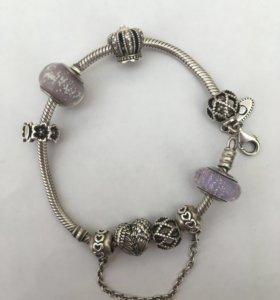 Pandora браслет и шармики