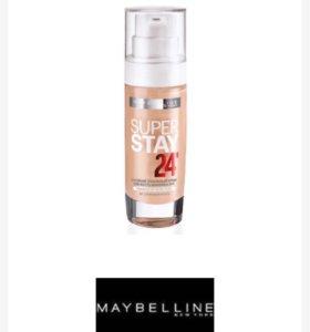Тональный крем super stay 24 maybelline новый