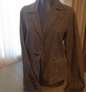 Джинсовый пиджак, 46-48