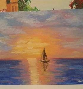 Картина «Рассвет»