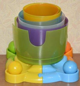 Игрушка-пирамидка «Башня» WinFun