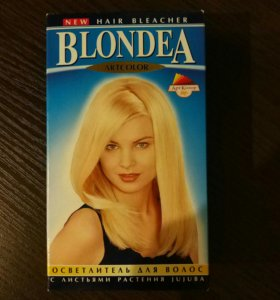 Краска для волос новая, осветитель для волос