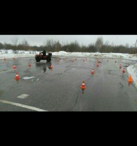 Обучение на квадроцикл и снегоход