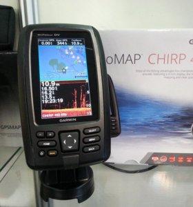 Картплоттер Garmin echoMAP chirp 43 dv/cv