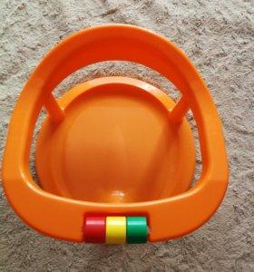 Сиденье для купания, горка и круг, всего за 600р