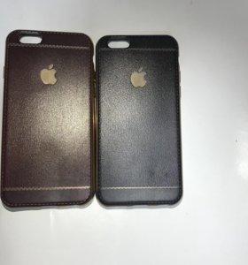 Силиконовые чехлы под кожу на айфон 6,6s