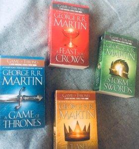 Песнь льда и пламени 4 книги