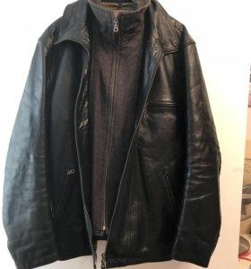 Кожаная куртка Marlboro