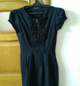 Платье черное размер 44