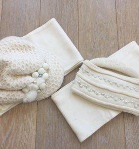 К-т Тавитта шерсть (шапка, шарф)
