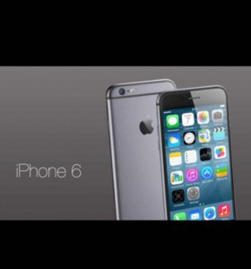 IPhone 6 (Space gray 64гб)