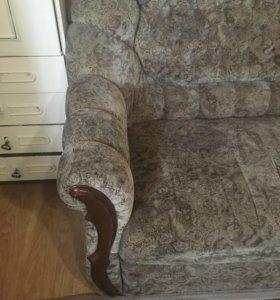 Комплект -диван+2кресла