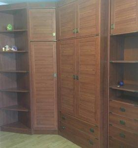Стенка-шкаф 'Галета' угловая