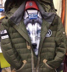 Куртка Финская волчья шерсть утеплитель новая