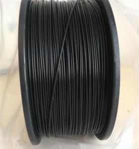 Пластик для 3d принтера, ABS и PLA черный