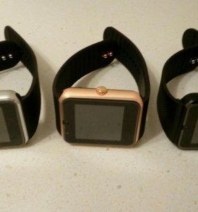 Умные часы smart watch DZ09 и GT08