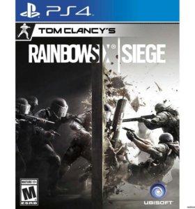 PS 4 RainbowSix Осада