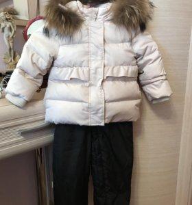 Комплект куртка и полукомбинезон зимний
